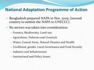 BANGLADESH CLIMEATE CHANGE STRATEGY AND NATIONAL ADAPTATION